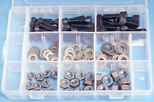 1/4 to 5/16 BSF Allen Socket Pack  120 pcs - mixed kit of Caps, nuts & washers