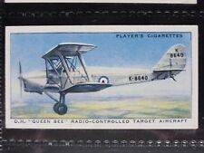No.42 D.H. QUEEN BEE RADIO CONT Aircraft of the Royal Airforce, John Player 1938