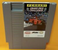 Ferrari Grand Prix -  Nintendo NES Game Rare Tested Works Great Authentic