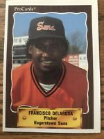 Francisco Delarosa baseball card 1990 Pro #1406 (Hagerstown Suns)