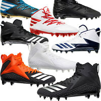 ADIDAS FREAK X CARBON MID Mens Football Cleats Shoes Black White - PICK SIZE