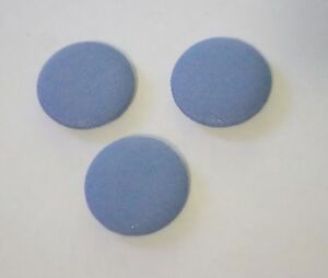 """Solid Colors Fabric Covered Buttons Small/medium/large Buttons 11/16 - 1.5"""""""