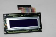 SHARP LM16X21B LCD DISPLAY MODULE SCREEN 2 ROW 16 CHARACTER 24V WITH CABLE