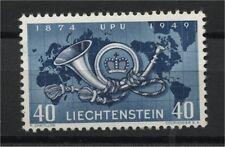 LIECHTENSTEIN, UPU 1949 VF MINT NEVER HINGED STAMP