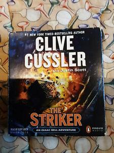 Clive Cussler Audio Books Cd Unabridged... The Striker