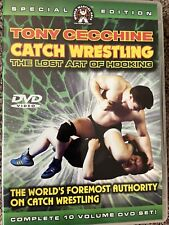 Catch Wrestling/ Jiu Jitsu Dvd (8) Lot
