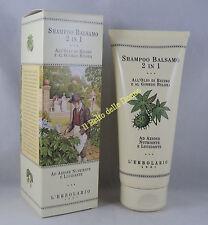 ERBOLARIO Shampooing Baume 2 dans 1 200ml nourrissante polissage huile ricin