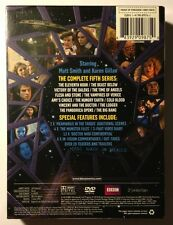 DOCTOR WHO Complete Fifth Series LIMITED EDITION Collectible Cover - NEW DVDS!!