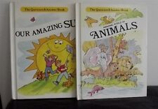 Book The Question & Answer Amazing World Of Animals & Our Amazing Sun Hard Cover