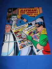 BATMAN: SUNDAY CLASSICS 1943-1946 Trade Paperback DC KITCHEN SINK 1st Print 1991