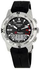 Tissot T-Touch II Smart Watch Titanium T047.420.47.207.00 Black Rubber Strap