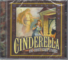 CINDERELLA and THREE OTHER STORIES - CHILDREN'S MINT CD - FREE POST IN UK