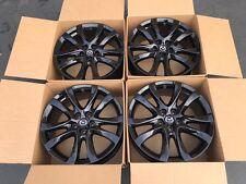 "19"" Mazda 6 Factory OEM Wheels Rims Black  2014 2015 2016 64958 98535 U78"
