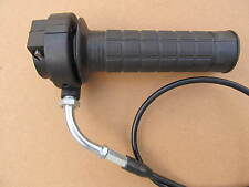 Dirt / Pit / quad atv bike throttle twist grip complete with cable