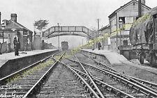 Hazel Grove Railway Station Photo. Davenport - Middlewood. L&NWR. (3)