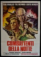 M226 Manifesto 2F Fighters Della Notte Cast a Giant Shadow John Wayne Sinatra