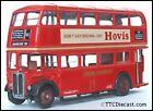 EFE 10106DL AEC Regent RT  London Transport  Hovis - Route 105 Shepherds Bush
