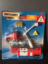 Matchbox Convoy Emergency Rescue Peterbilt Bucket Utility Truck