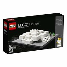 LEGO HOUSE 4000010 Exclusive Set Billund Denmark BRAND NEW FACTORY SEALED