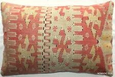 (40*60cm, 16*24cm) Textured handmade pillow cover Antique Esme SLIT weave