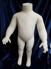 "22"" Toddler Display Mannequin Headless"