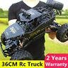 4WD RC Truck Off-Road Vehicle 2.4G Remote Control Buggy Crawler Car 1:12