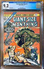 Giant-Size Man-Thing #3 CGC 9.2 WP Death of Dakimh the Enchanter