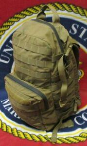 GENUINE US MARINES USMC COYOTE TAN EAGLE INDUSTRIES FILBE ASSAULT PACK.