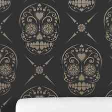 Candy Skull (Sugar Skull) Decorative Wall Stencil