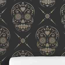 Candy Skull (Sugar Skull) Decorative Wall Stencil