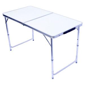 Alu Klapptisch Campingtisch 120x60cm klappbarer Gartentisch Falttisch Partytisch