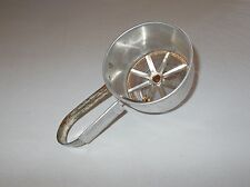 Cool Vintage Foley handheld aluminum sifter Kitchen gadget wall decor