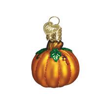 """""""Miniature Pumpkin"""" (Short) (28047) Old World Christmas Glass Ornament"""