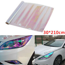 30 X 210cm Chameleon Clear Tail Tint Car Van Fog Light Headlight Vinyl Film UK