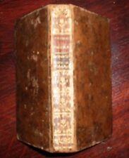 LES POESIES D'HORACE TRADUITES EN FRANCAIS TOME II A PARIS chez DESAINT 1760