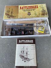 New ListingC. Mamoli 1:64 Rattlesnake Wooden Ship Model Kit New Unbuilt (Not Inventoried)