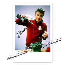 "Jamie Oliver ""The Naked Chef"" TV Koch Autogrammfoto [A01] "