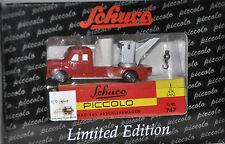 """Schuco 01302 Piccolo Magirus Deutz Abschleppwagen """"150 J. Berliner Feuerwehr""""neu"""
