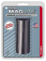 NEW MAGLITE AM2A026  2 CELL AA FLASHLIGHT LEATHER BELT HOLDER HOLSTER 3563939