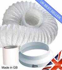 HDIUK 3 Metre Aircon Portable Air Conditioner 3m Vent hose Hose Extension kit