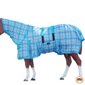 "72"" Hilason Uv Protect Mesh Bug Mosquito Horse Fly Sheet Summer Spring"