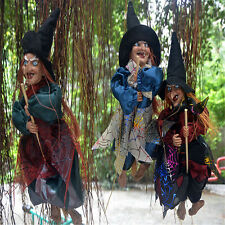 """1PCS 12"""" Halloween Decorations Witch Props Eyes Bright/Laughing Sound Control"""