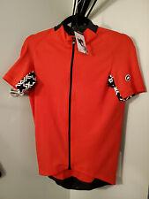 Assos Men's Mille Gt Short Sleeve Cycling Jersey - Nationalred, M