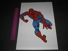 MARVEL COMICS SUPER-HEROES AMAZING SPIDER-MAN POSTER PIN UP OLD SCHOOL STYLE