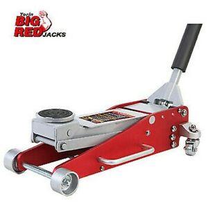 Aluminium Lightweight Jack 2.5 Tonne Low Profile 2500kg Torin Big Red Trolley
