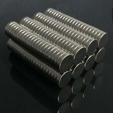 10 x Strong Magnets N50 Round Size Disc 15mm X 3mm Rare-Earth Neodymium Magnet