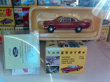 Vanguards 1/43 Ford Capri monaco red / ermine white