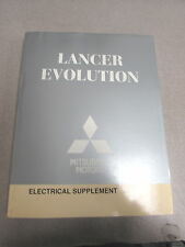 2010 Mitsubishi Lancer Evolution Service Electrical Supplement Manual