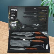 Kitchen tool 6pcs set wood handle LK-010