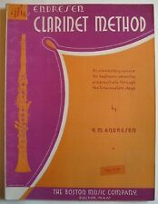 The Endresen Clarinet Method E.M. Endresen Instruction Book 1938